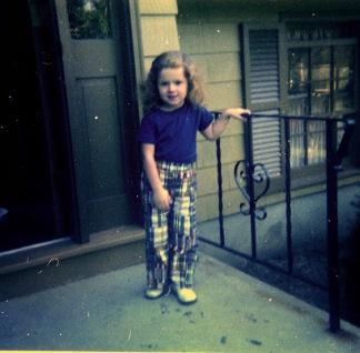 1972 Brenda in plaid