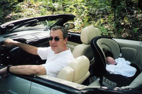 2006 shawn and john in convertible
