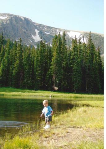 Blog Shawn alone in Colorado
