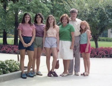 Summer 1982 Family Photo at Hershey