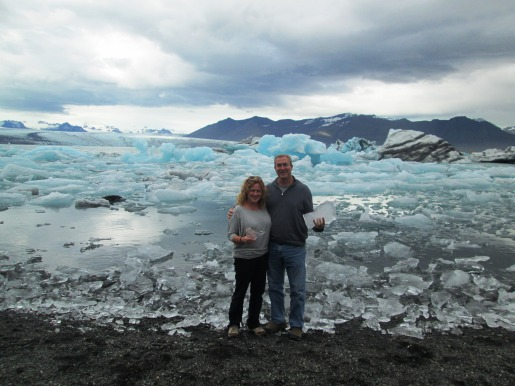 Icebergs Brenda and John