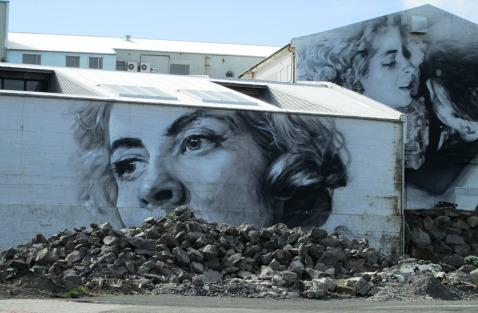 Reykivik mural
