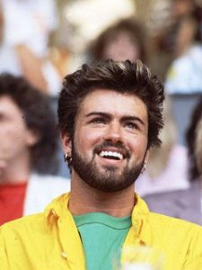 George Michael in Yellow Shirt