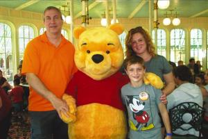 Winnie the Pooh and Family